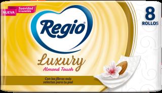 Regio Papel Higiénico Luxury Almond Touch