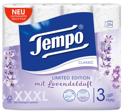 Tempo WC Papier  Classic Duftedition Lavendel 3 lagig