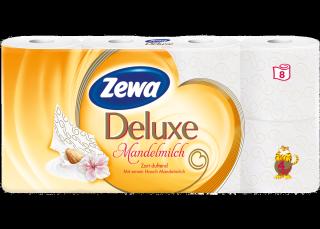 Zewa Deluxe Mandelmilch (8 Rolls)