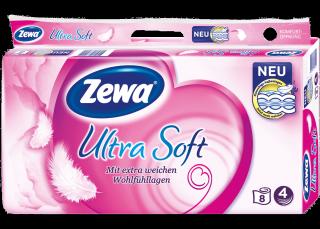 Zewa Ultra Soft (8 Rolls)