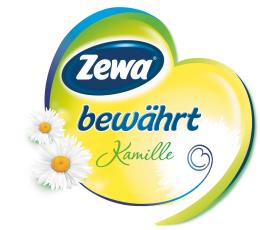 Zewa Toilettenpapier Bewährt Kamille 3-lagig (Heart)