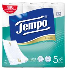 Tempo WC Papier  Deluxe 5 lagig