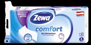 Zewa comfort Das Reinweisse