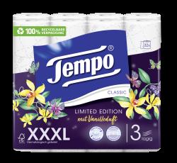 Tempo WC Papier  Classic Duftedition Vanille 3 lagig