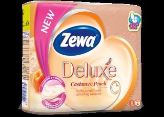 Zewa Deluxe Cashmere Peach