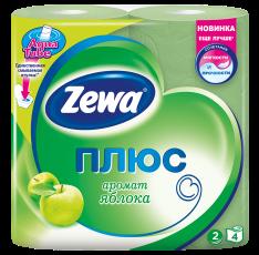 Zewa Туалетний папір  Плюс Аромат яблука