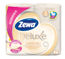 Zewa Туалетний папір  Deluxe Aroma Spa