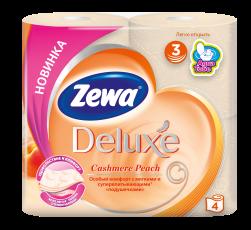 Zewa Туалетний папір  Deluxe Персик