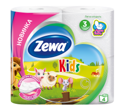 Zewa Туалетний папір  Kids